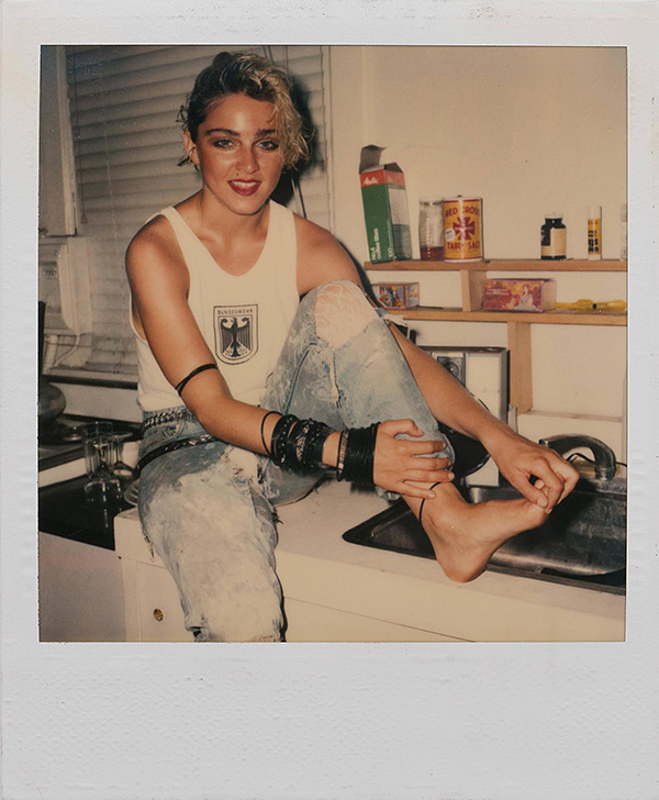Madonna photographed by Richard Corman in 1983