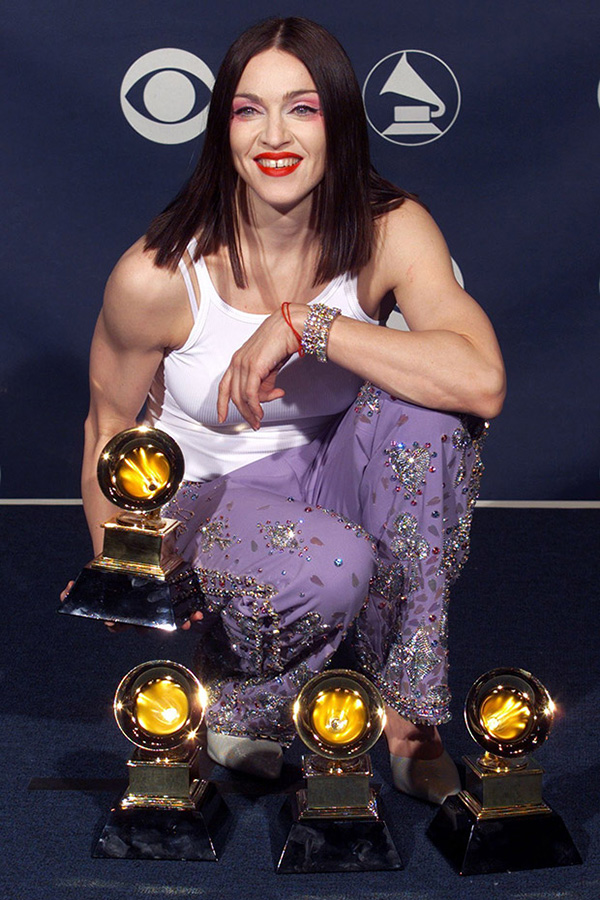Madonna at the 1999 Grammy Awards