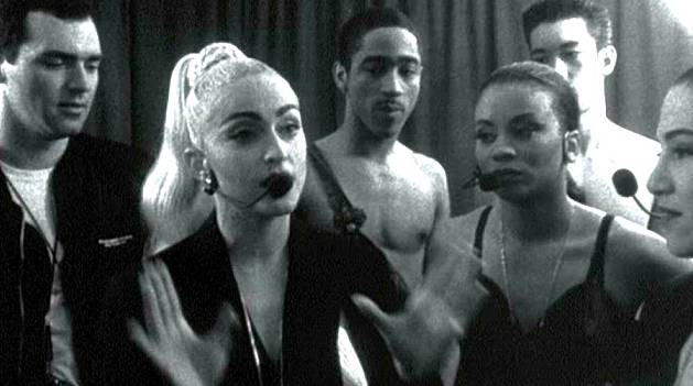 Madonna in her 1991 documentary Truth or Dare