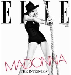 Madonna in Elle magazine, May 2008
