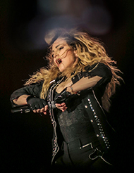 Photo by Josh Brandão, as part of the official press kit for the Rebel Heart Tour release