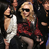 Madonna at Phillipp Plein fashion show