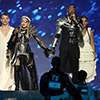 Madonna and Quavo perform 'Future' at the 2019 Eurovision Song Contest in Tel Aviv