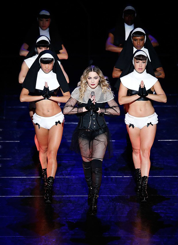 Madonna last performed on her Rebel Heart Tour in 2015-2016