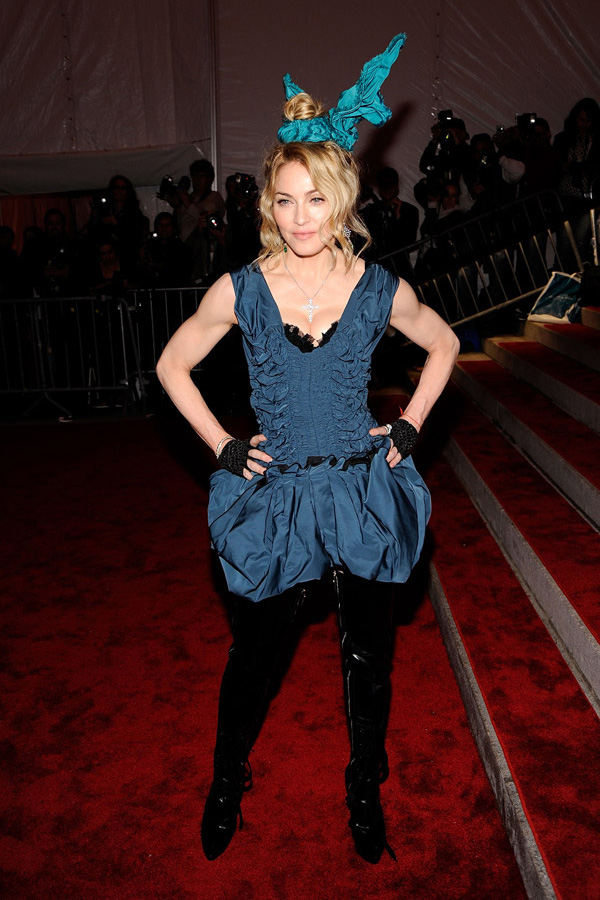 Madonna at the 2009 MET Gala