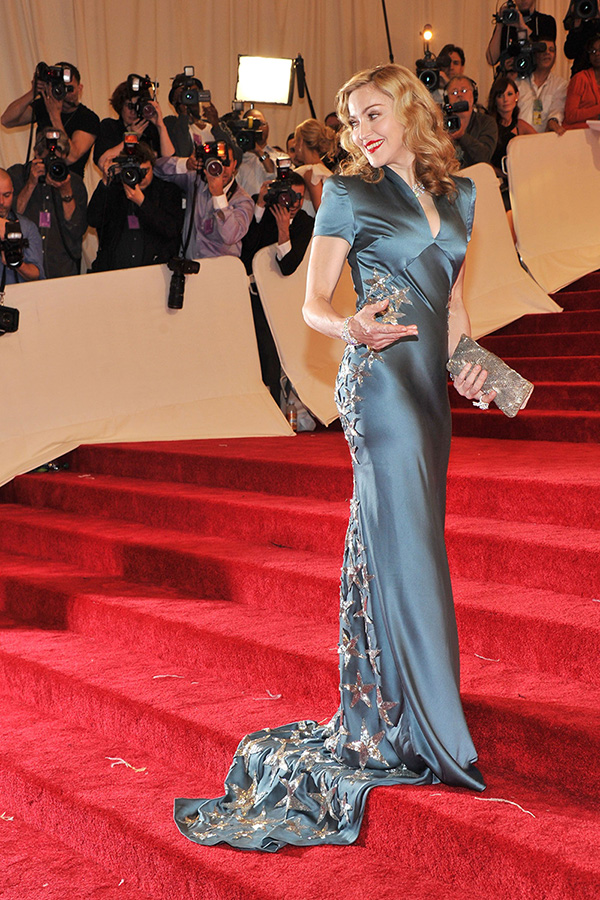 Madonna at the 2011 MET Gala