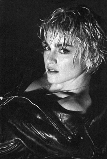 Madonna photographed by Herb Ritts, for Papa Don't Preach