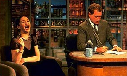 Madonna on Letterman in 1994
