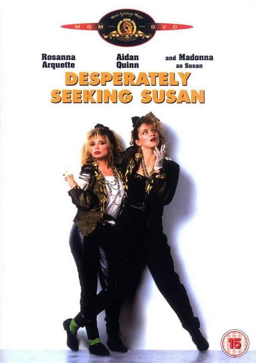 Desperately Seeking Susan - Madonna & Rosanna Arquette in movie by ...