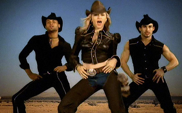 Don't Tell Me: Actually, Madonna was the first to subvert country music style