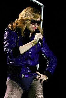 Madonna tours mad eyes live on stage promo tours award shows
