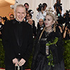 Madonna and Jean Paul Gaultier at the 2018 Met Gala