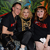 Madonna with Jeremy Scott and Beth Ditto at the Moschino H&M launch party