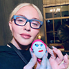 Madonna organised an Easter egg painting session with her kids