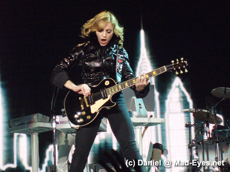 Madonna performs I Love New York @ Confessions Tour