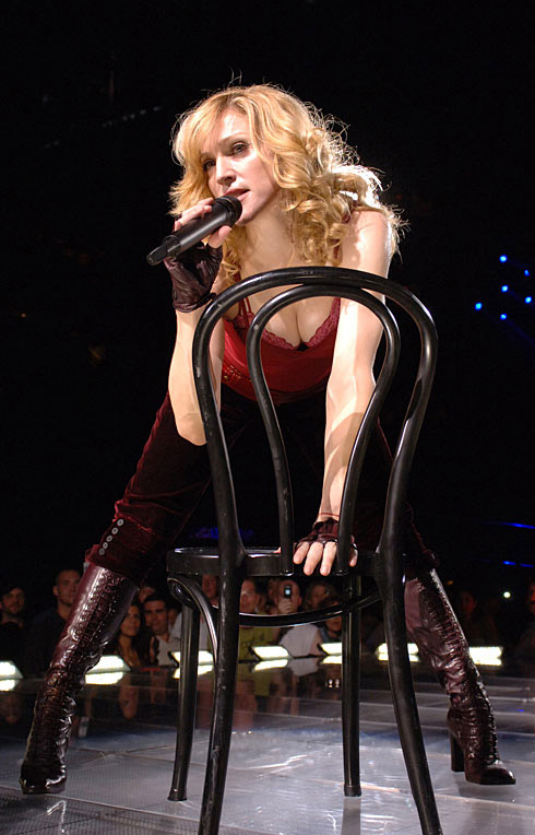 Madonna performs Like It Or Not on the Confessions Tour