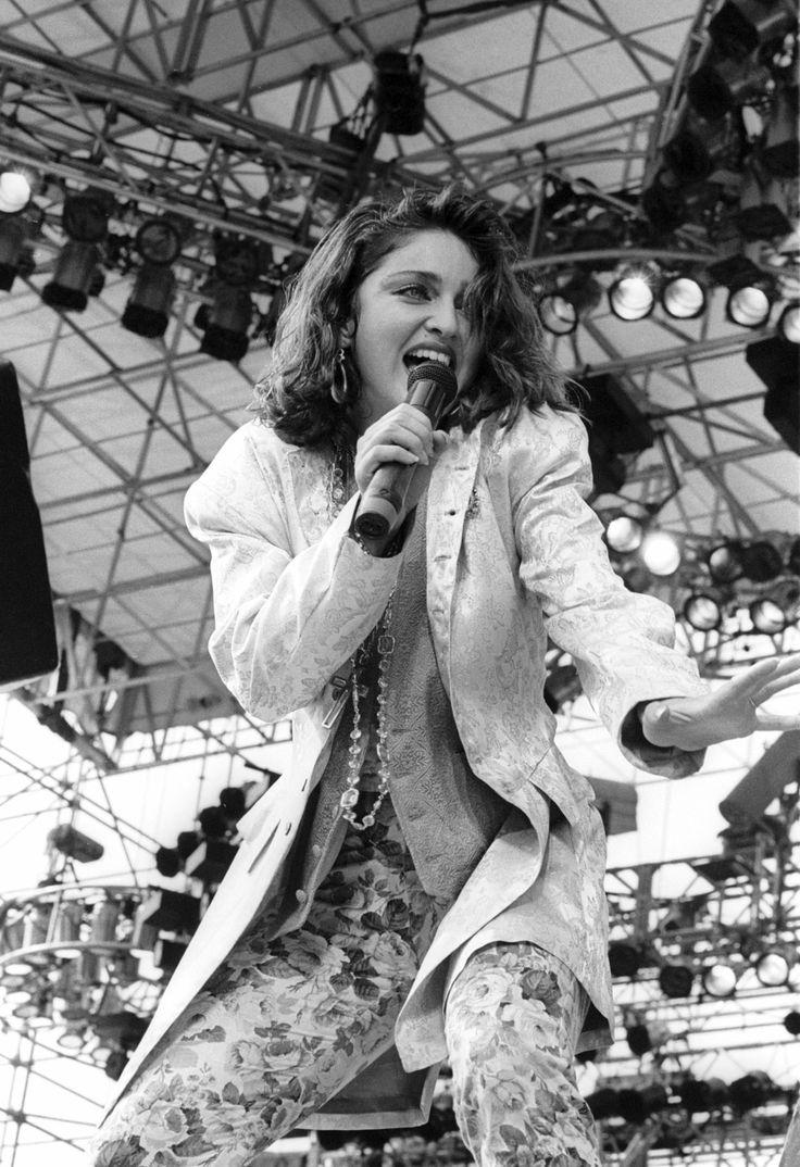Live Aid Madonna benefit concert Philadelphia Bob Geldof