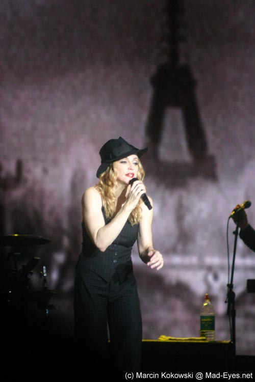 Madonna performing Don't Tell Me @ Re-Invention Tour